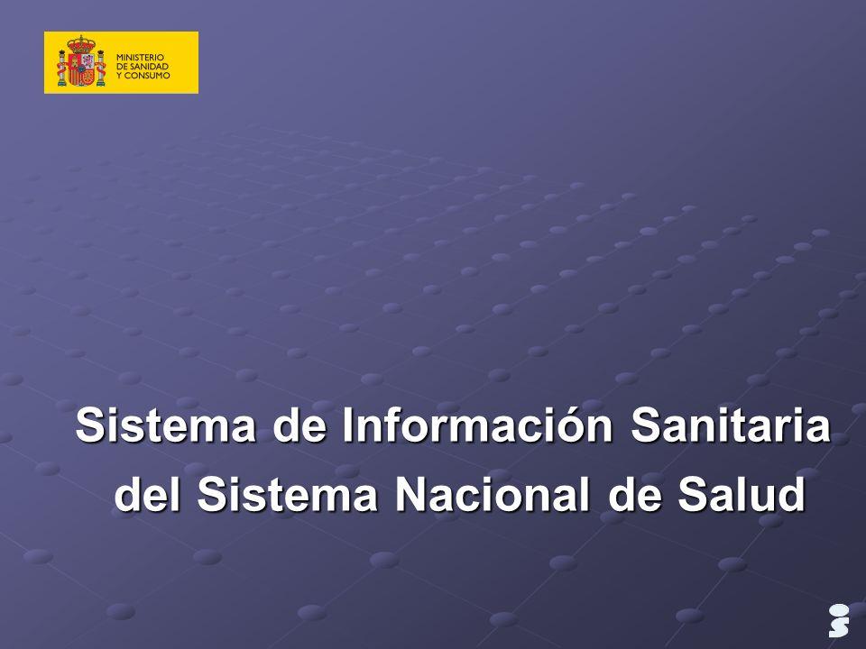 Sistema de Información Sanitaria del Sistema Nacional de Salud