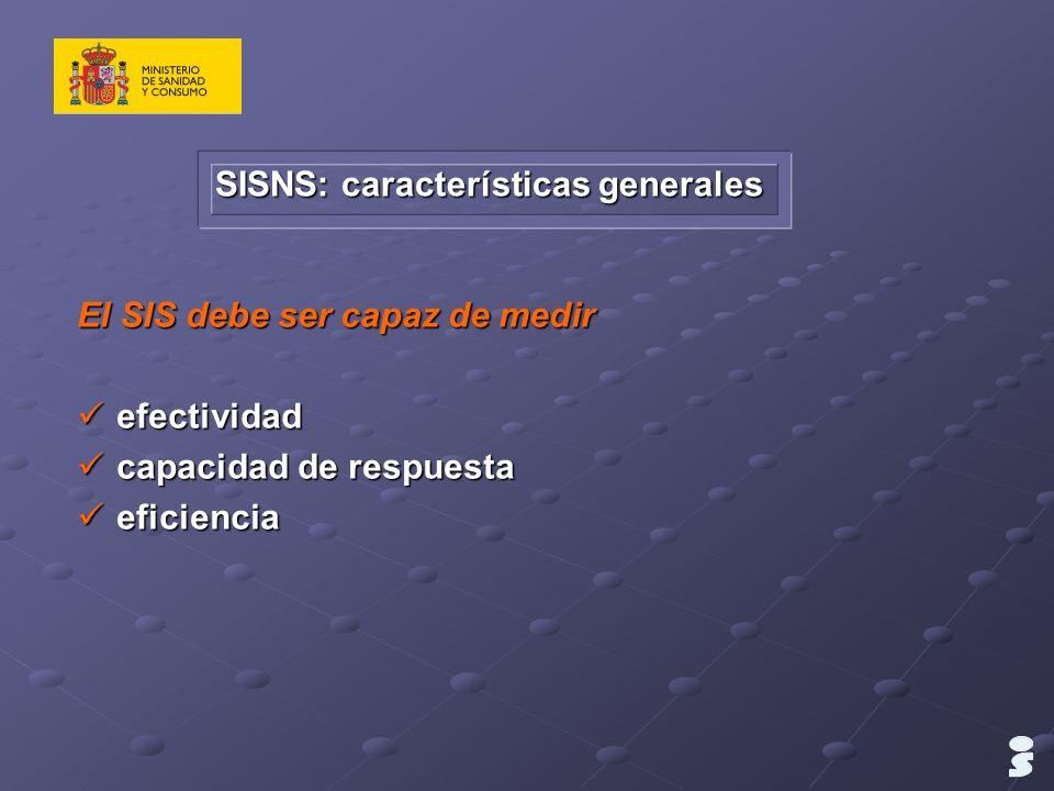SISNS: características generales