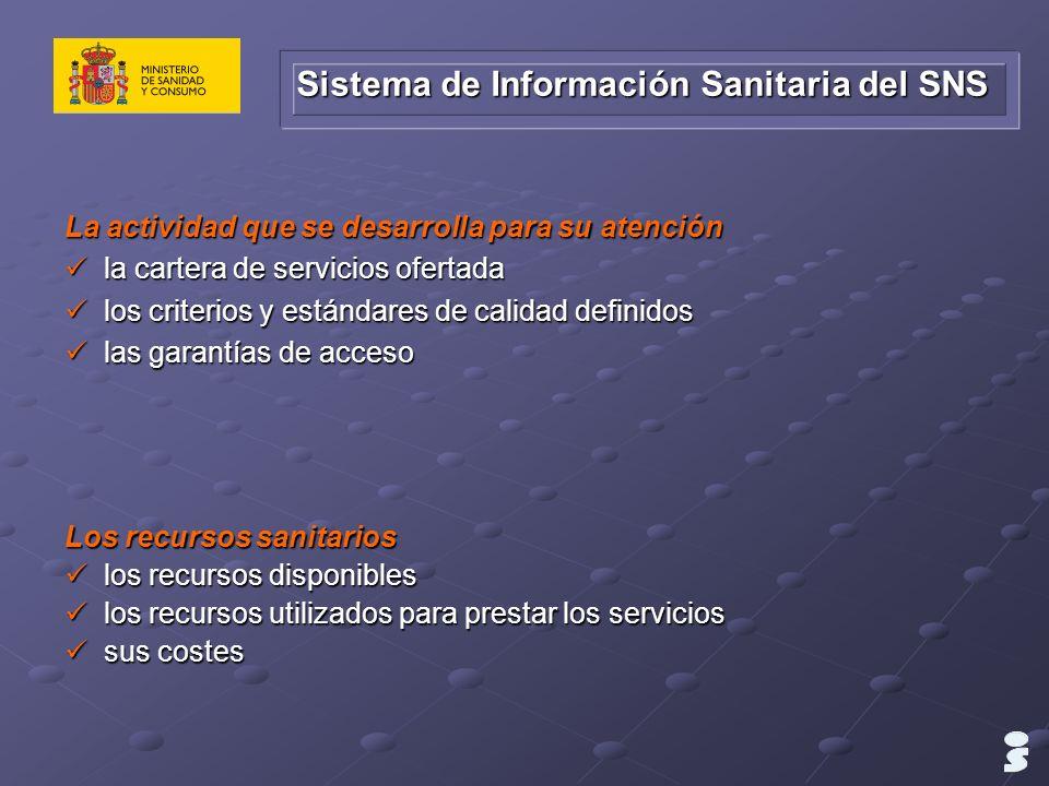 Sistema de Información Sanitaria del SNS
