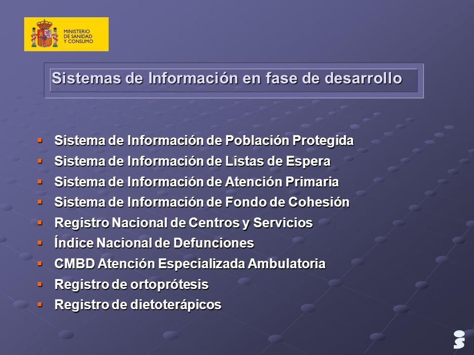 Sistemas de Información en fase de desarrollo