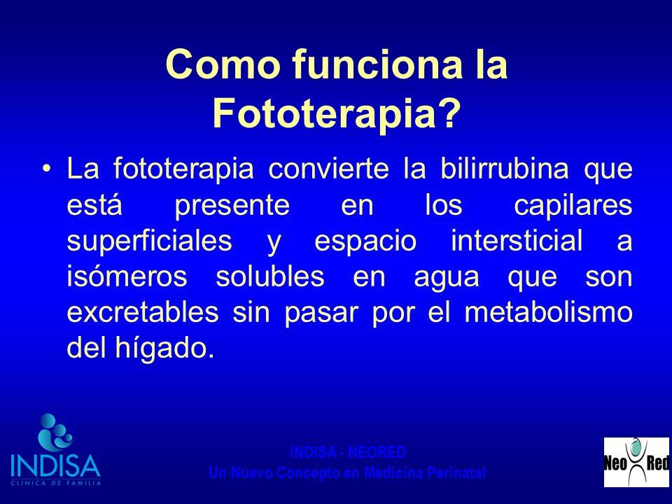 Como funciona la Fototerapia