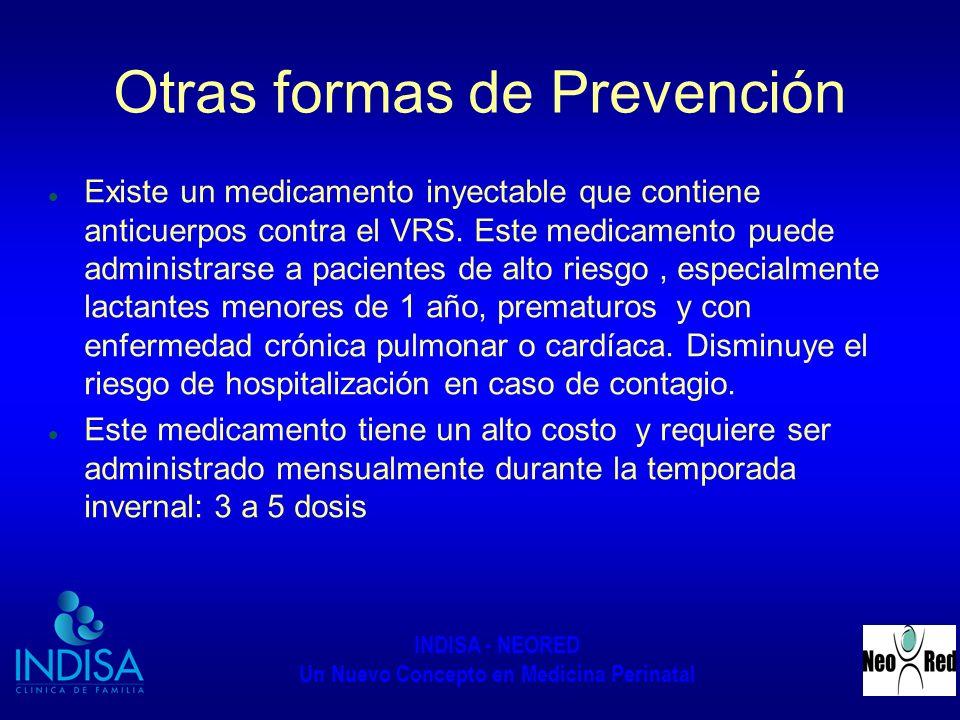 Otras formas de Prevención