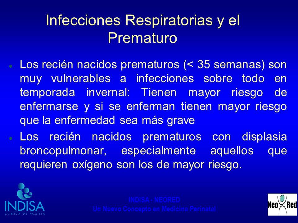 Infecciones Respiratorias y el Prematuro
