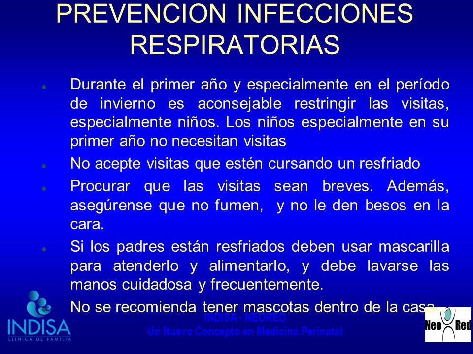 PREVENCION INFECCIONES RESPIRATORIAS