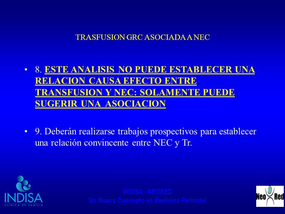 TRASFUSION GRC ASOCIADA A NEC