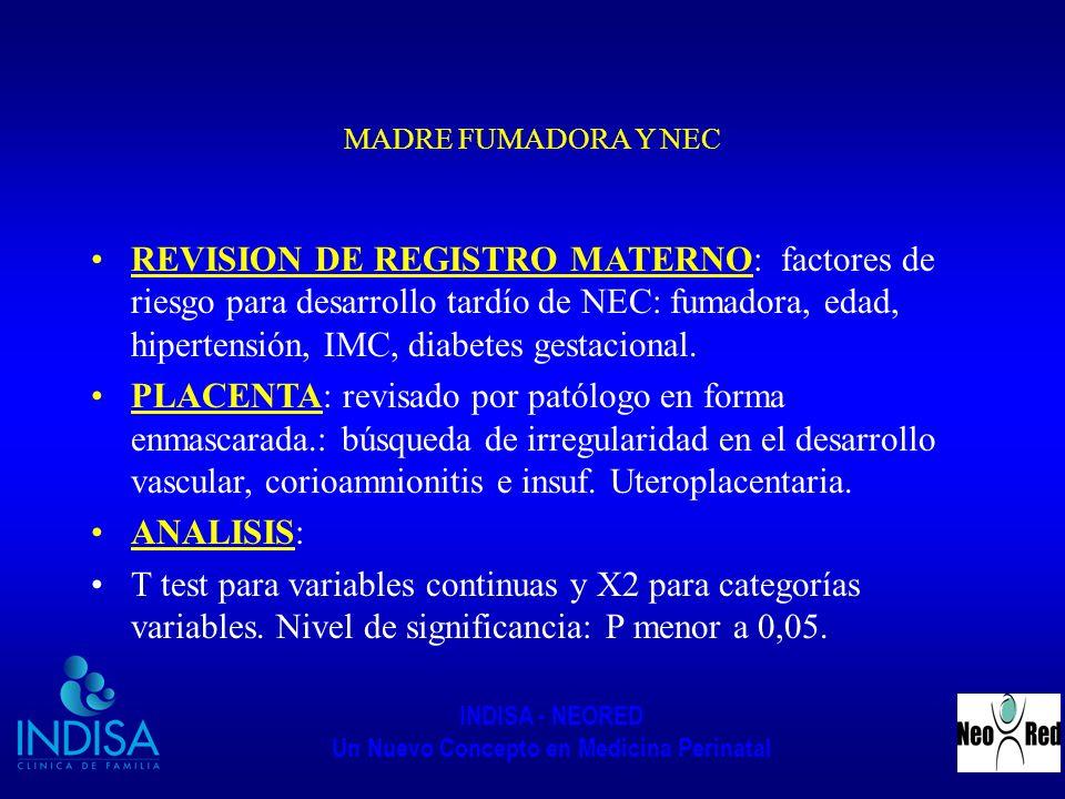 MADRE FUMADORA Y NEC
