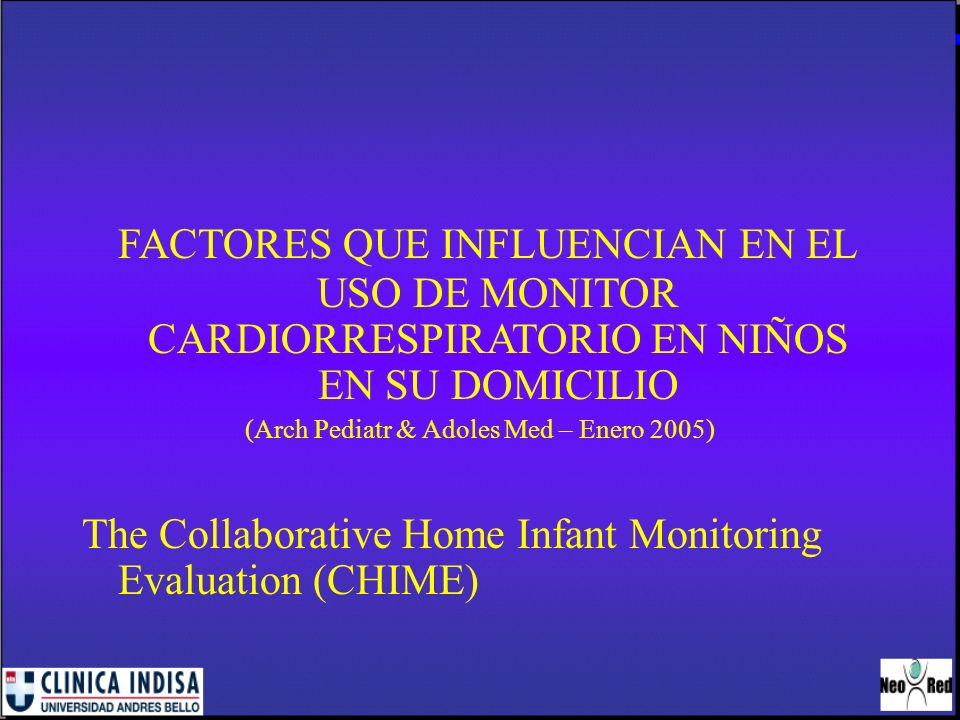 (Arch Pediatr & Adoles Med – Enero 2005)