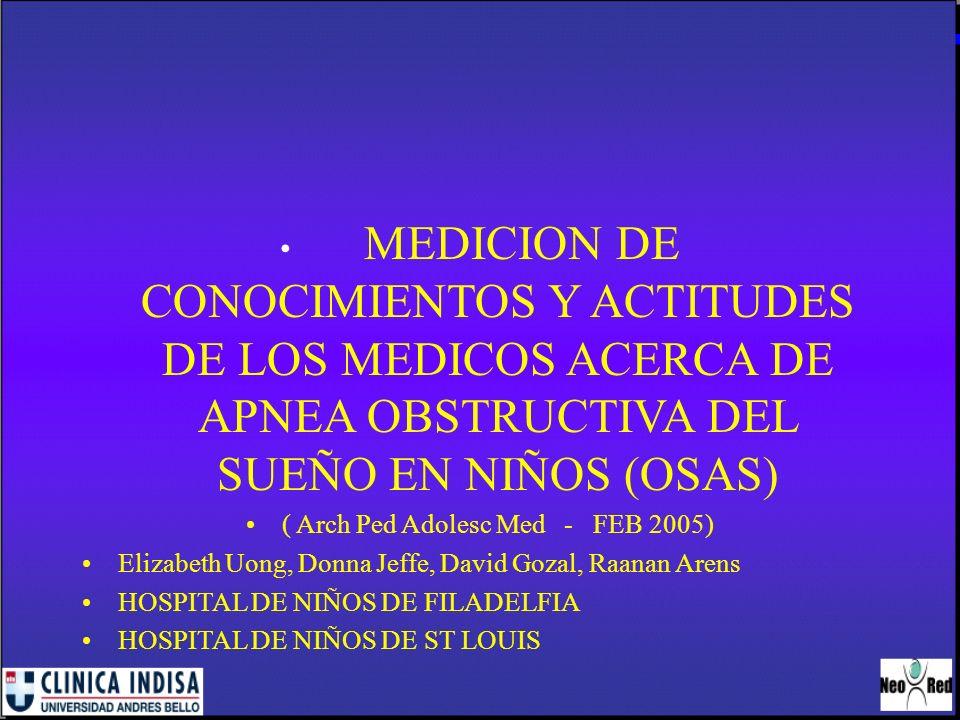 ( Arch Ped Adolesc Med - FEB 2005)