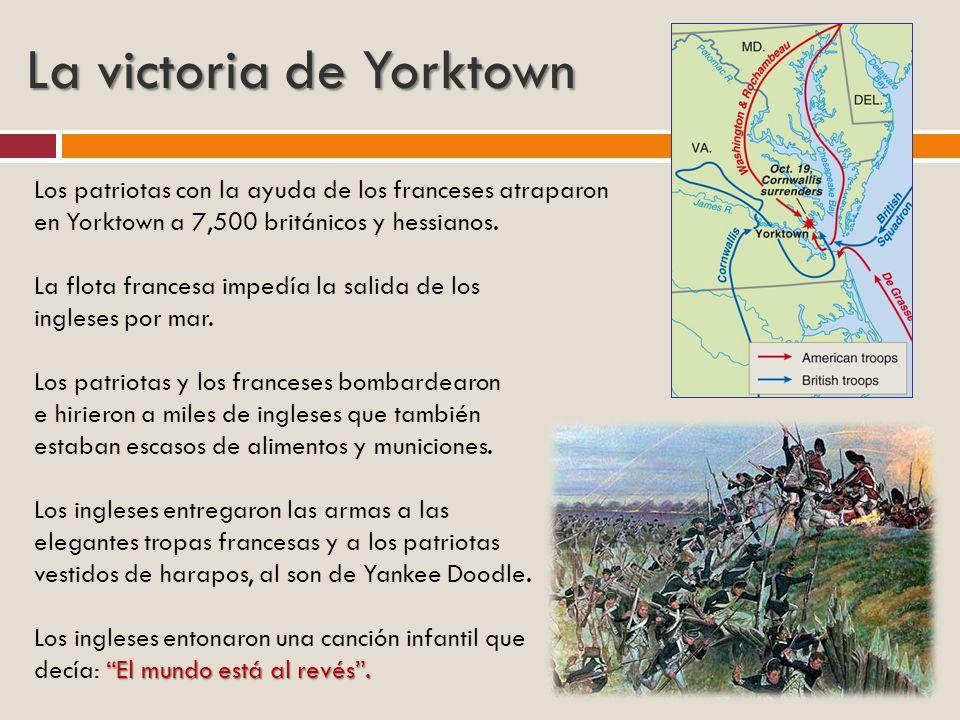 La victoria de Yorktown