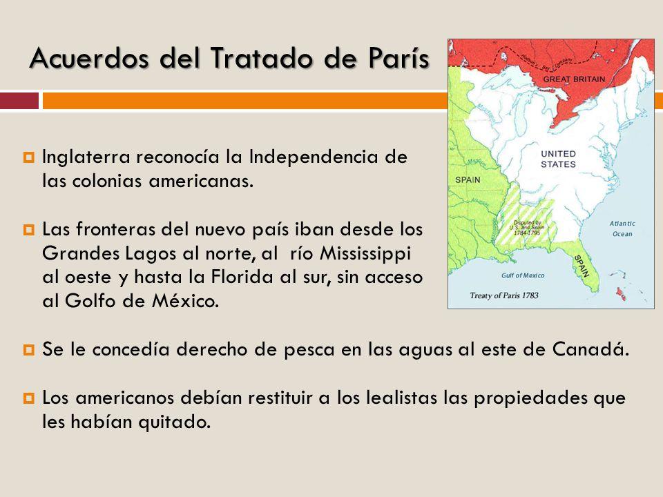 Acuerdos del Tratado de París
