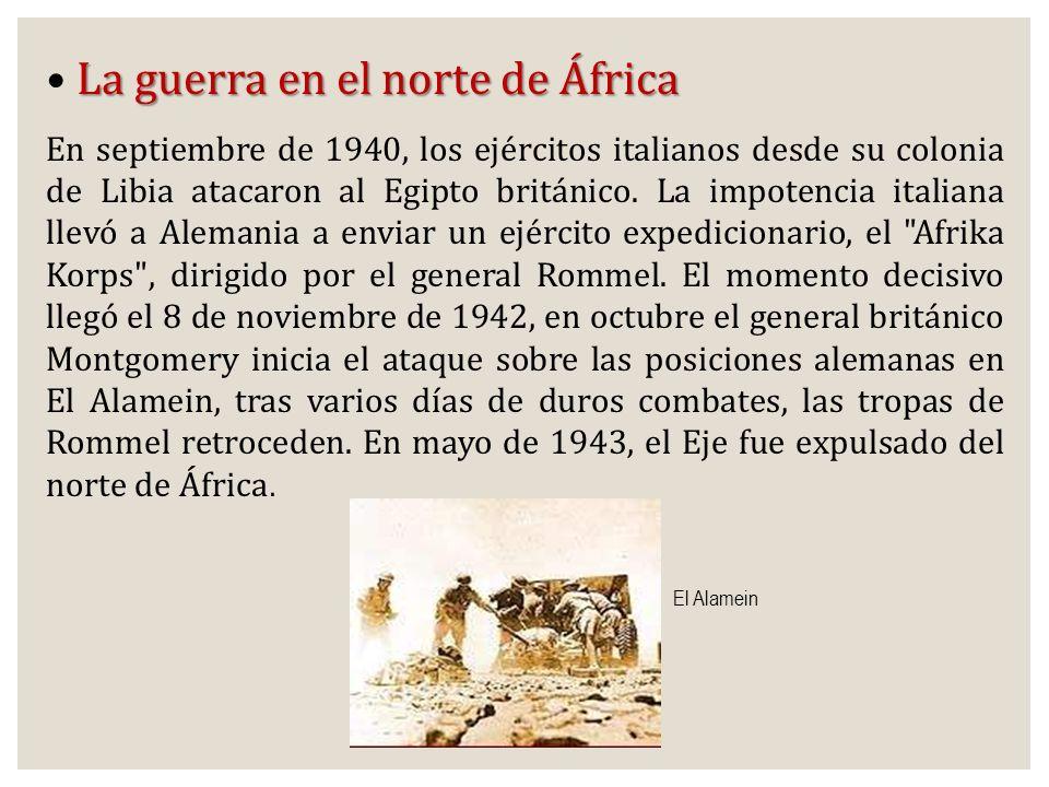 La guerra en el norte de África