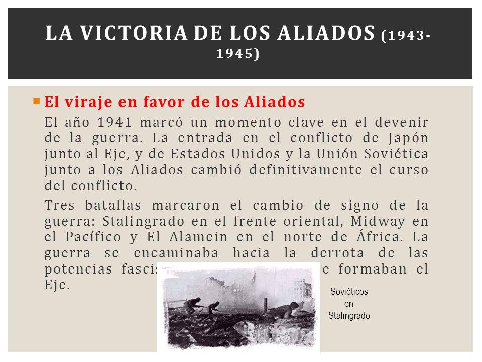 La victoria de los Aliados (1943-1945)