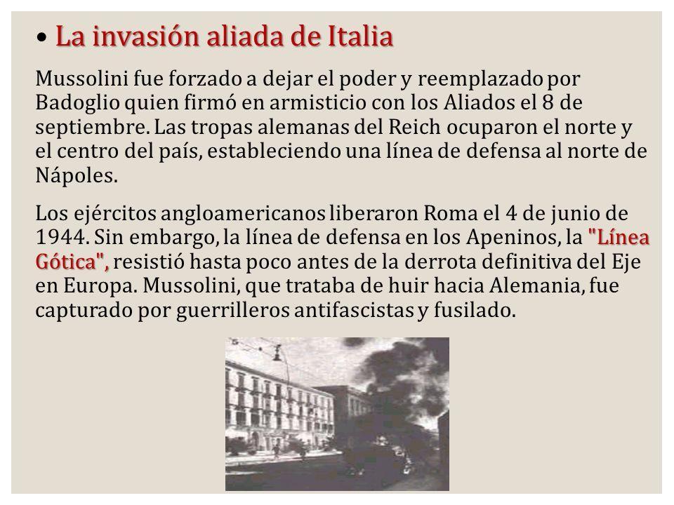 La invasión aliada de Italia