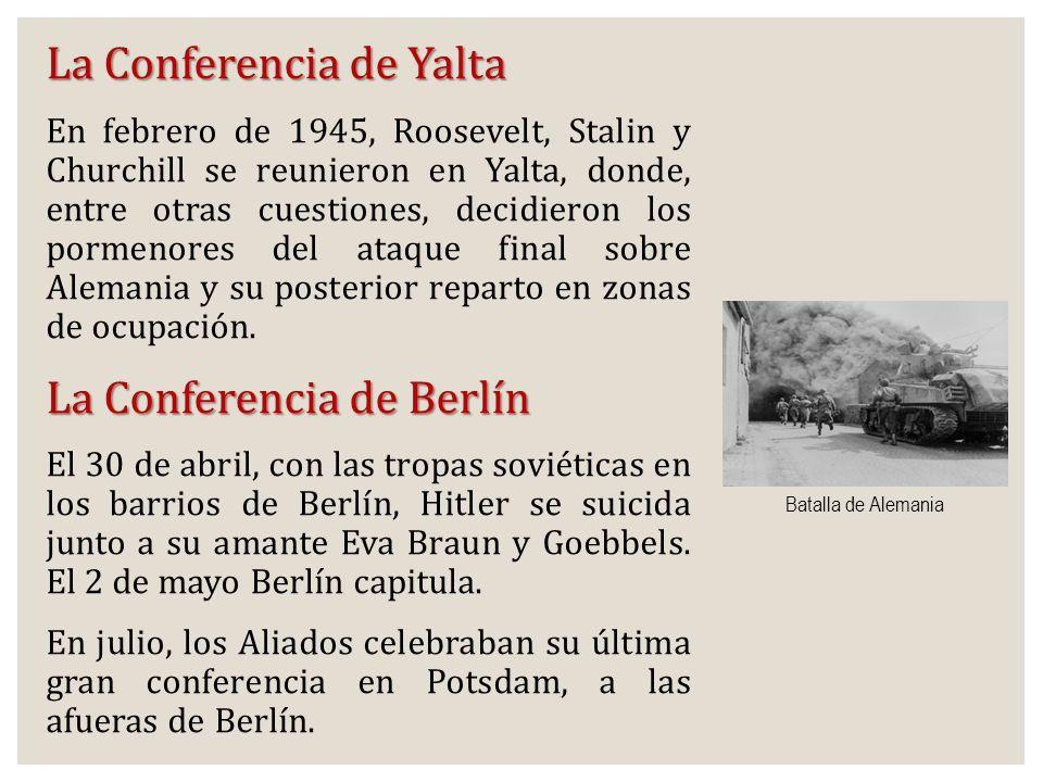 La Conferencia de Yalta