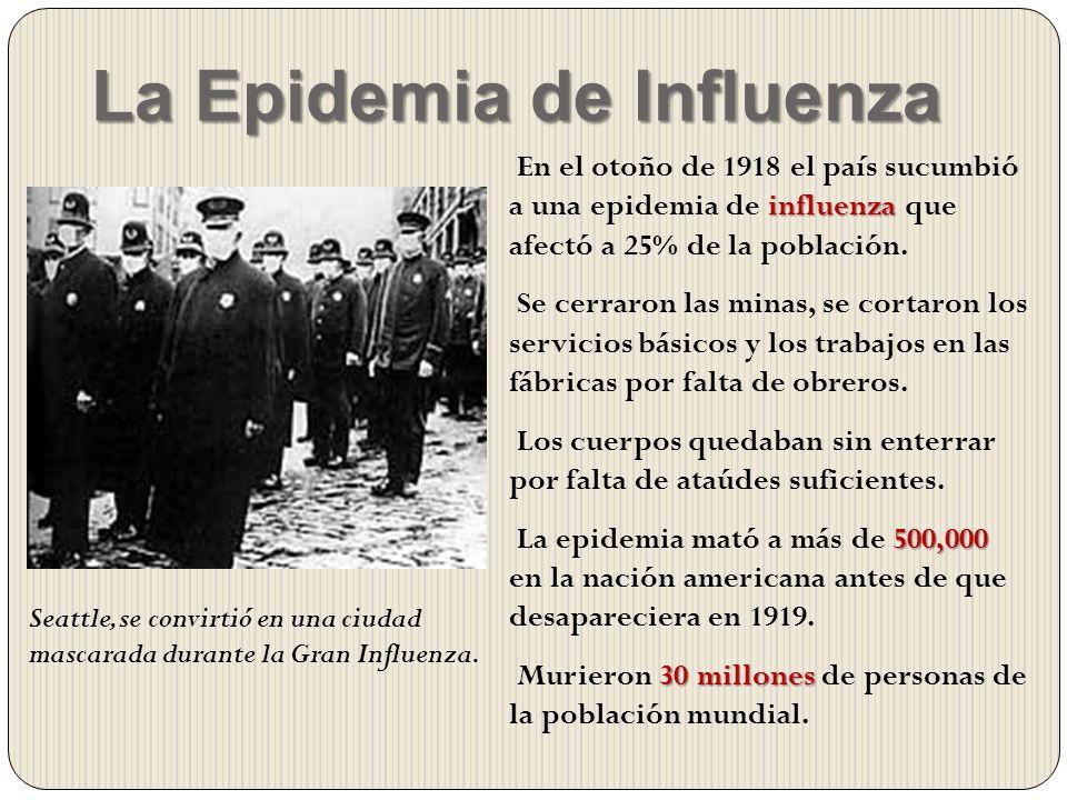 La Epidemia de Influenza