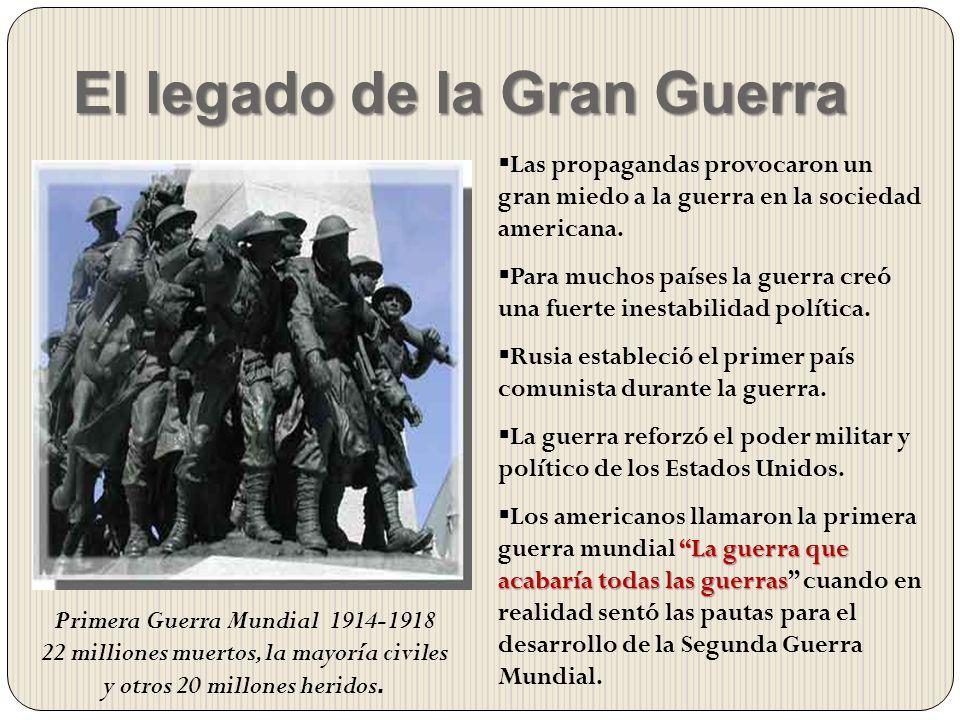 El legado de la Gran Guerra