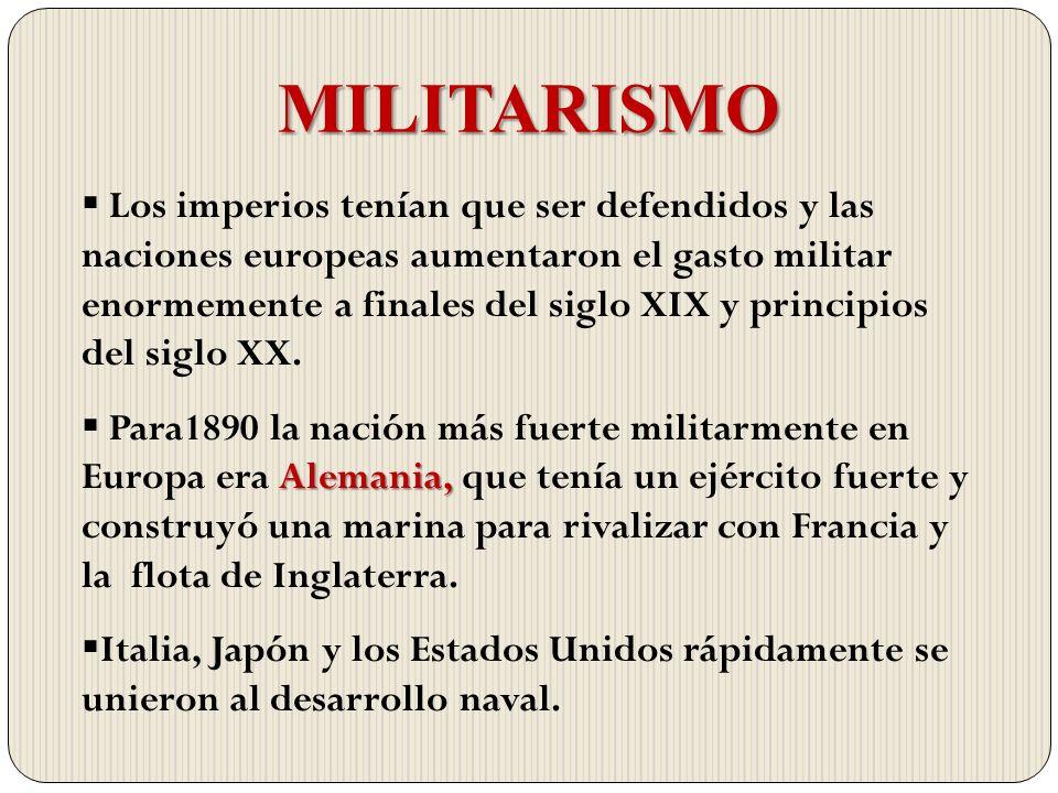MILITARISMO
