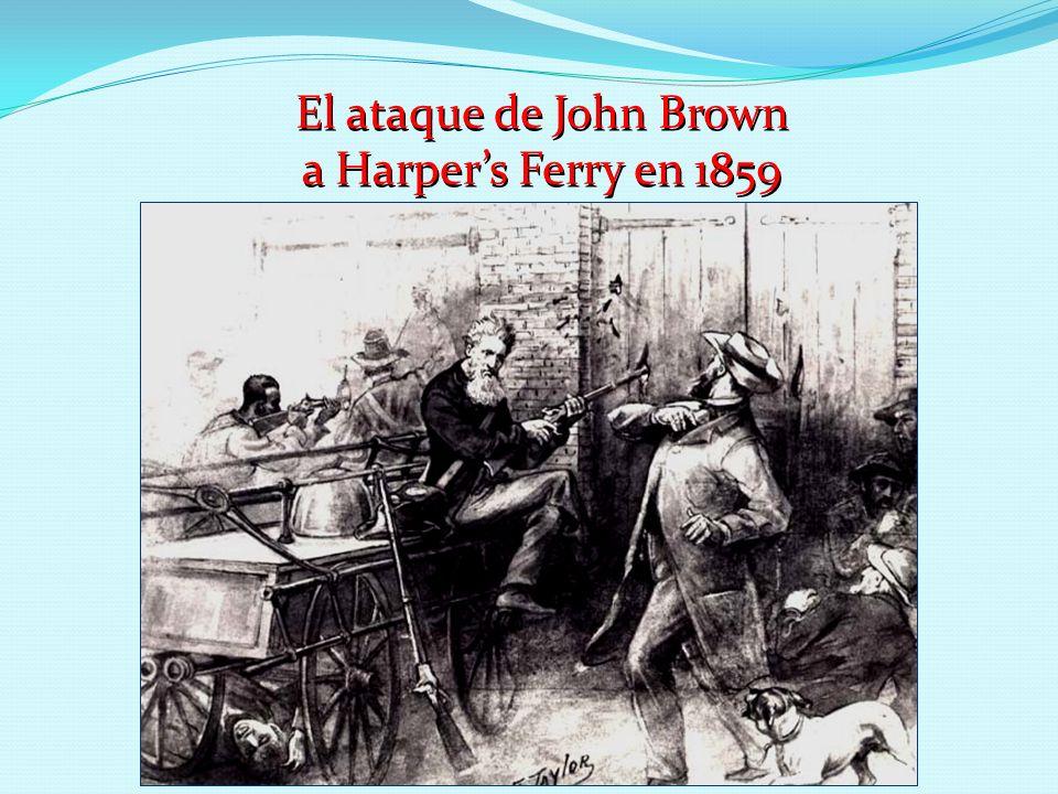 El ataque de John Brown a Harper's Ferry en 1859