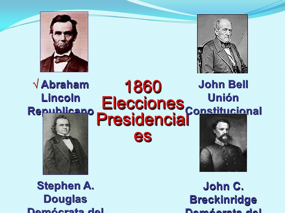 1860 Elecciones Presidenciales