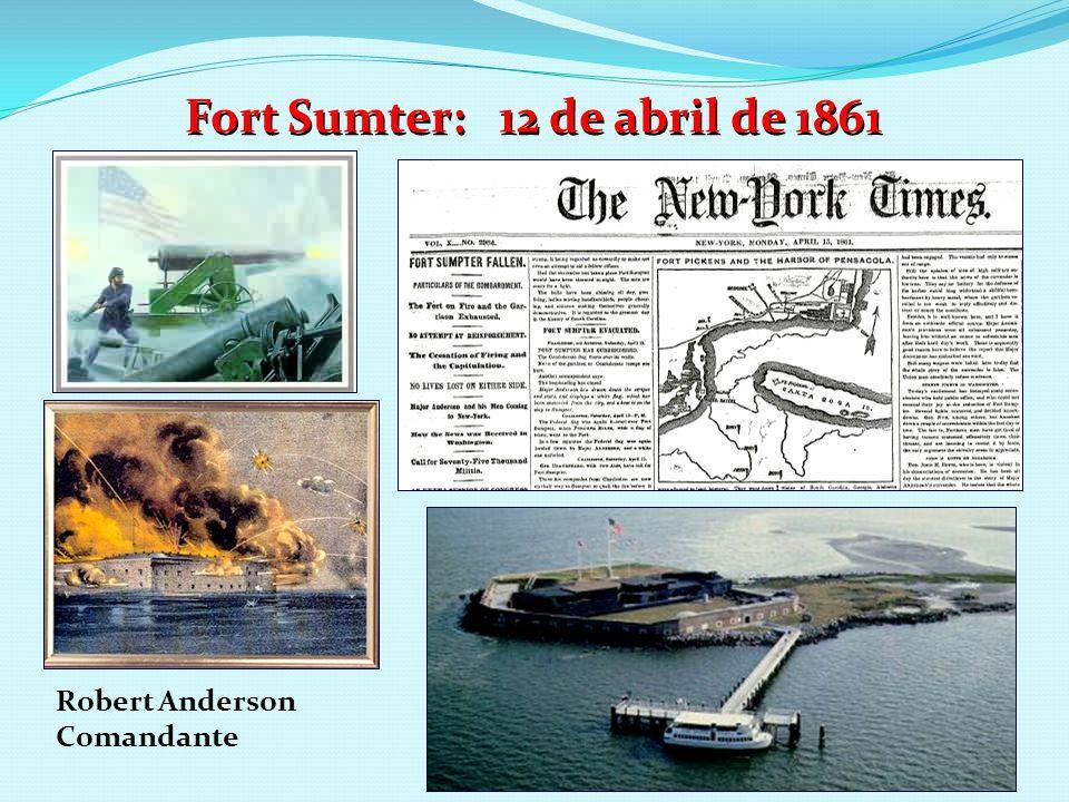 Fort Sumter: 12 de abril de 1861