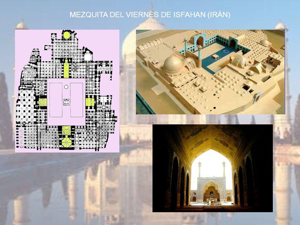 MEZQUITA DEL VIERNES DE ISFAHAN (IRÁN)