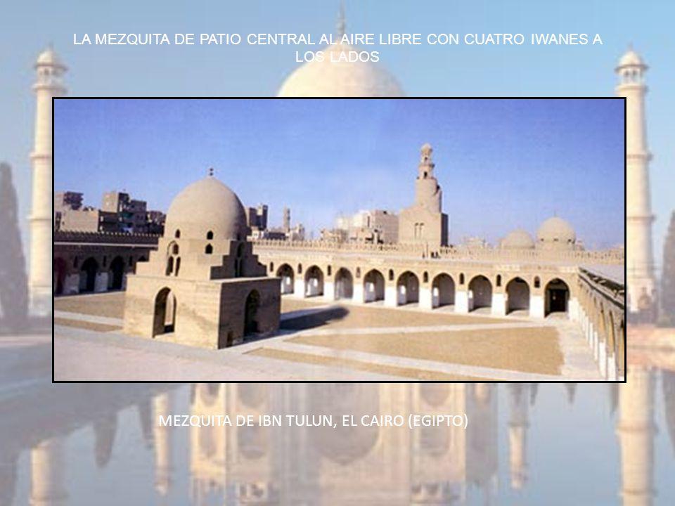 MEZQUITA DE IBN TULUN, EL CAIRO (EGIPTO)