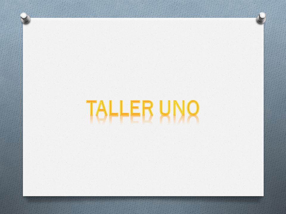 TALLER UNO