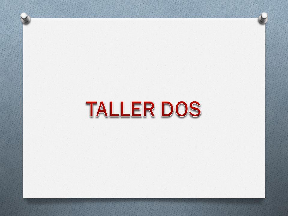 TALLER DOS