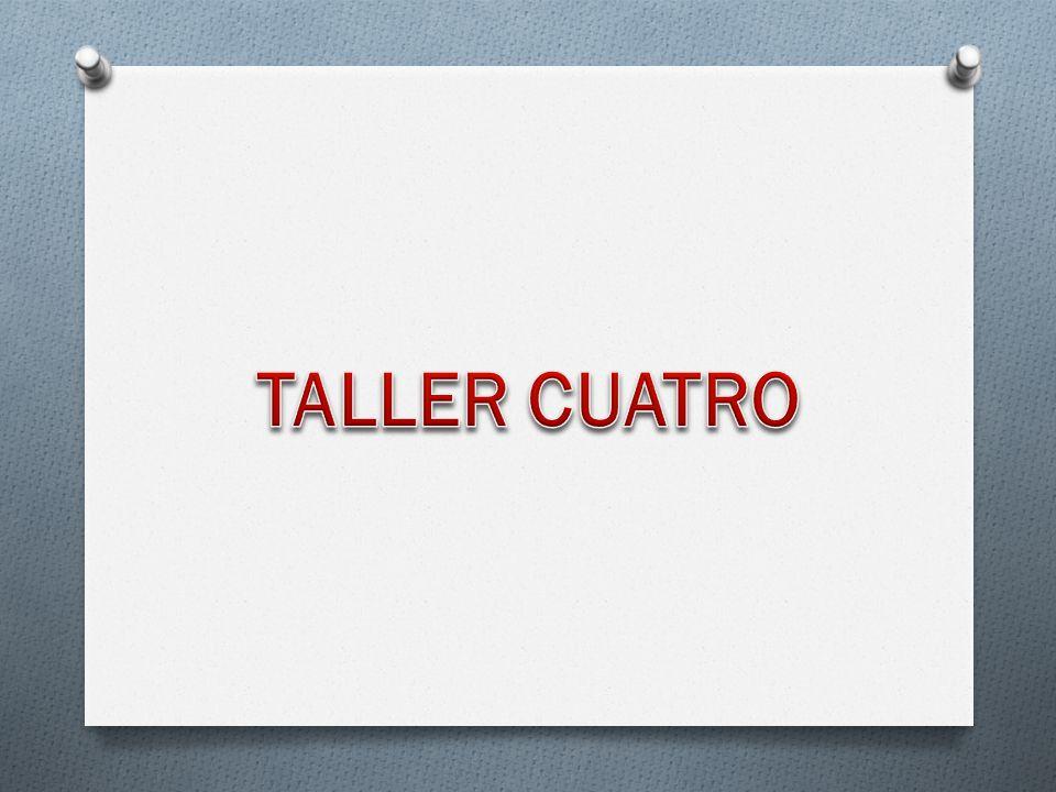 TALLER CUATRO