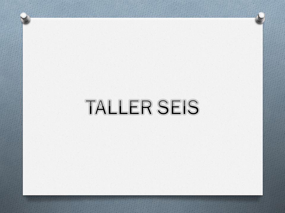 TALLER SEIS