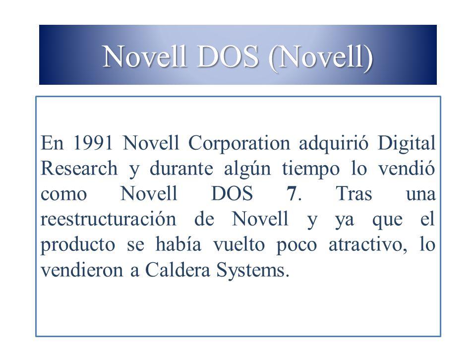 Novell DOS (Novell)