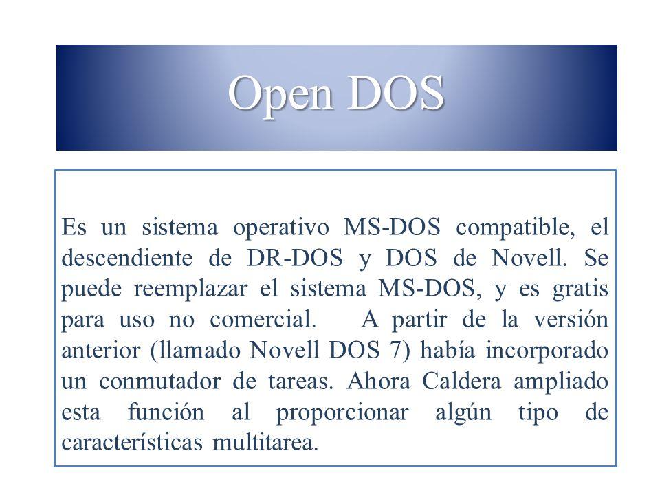 Open DOS