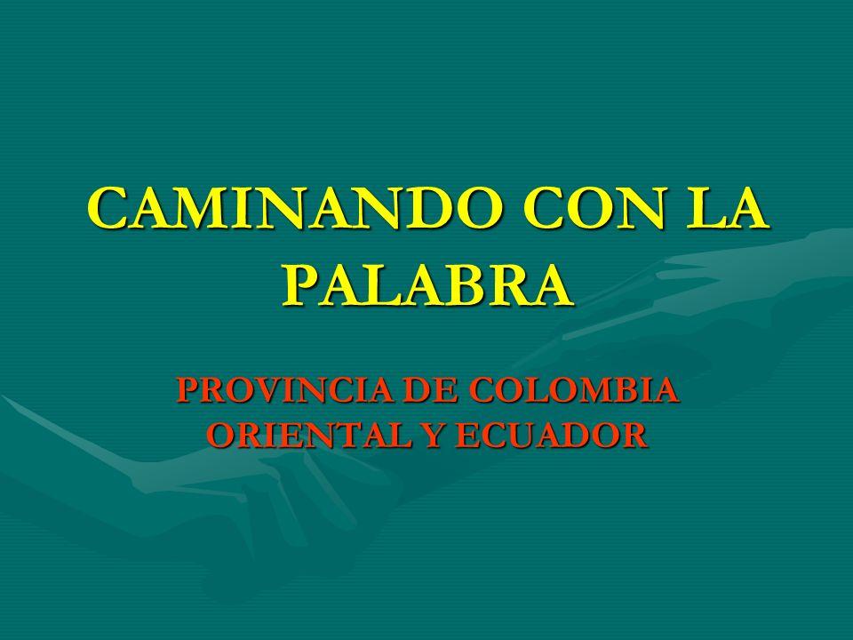 CAMINANDO CON LA PALABRA