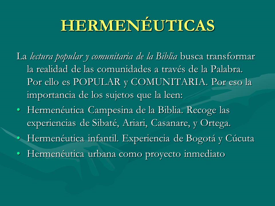 HERMENÉUTICAS