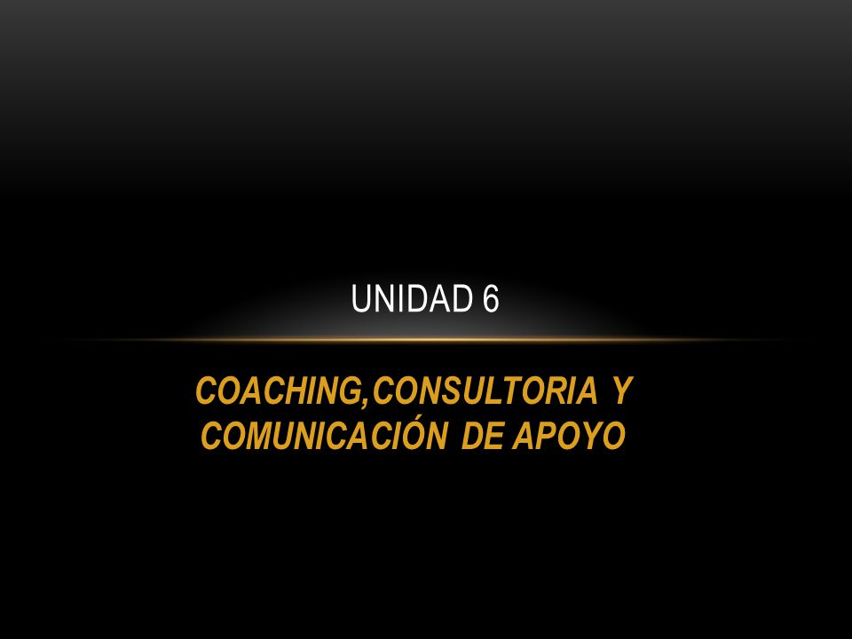 COACHING,CONSULTORIA Y COMUNICACIÓN DE APOYO