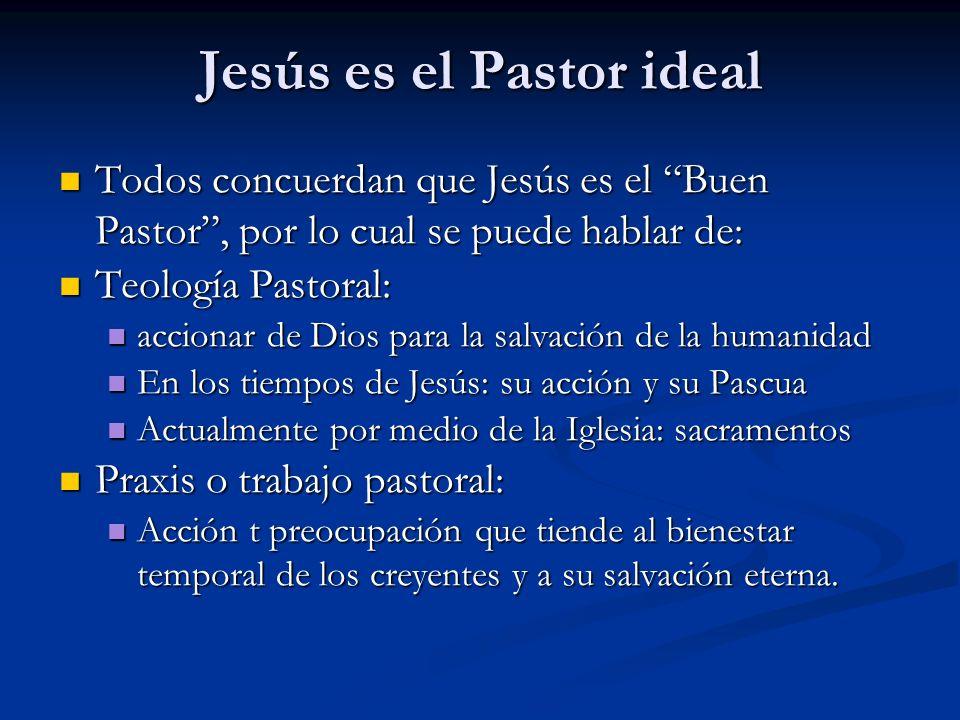 Jesús es el Pastor ideal
