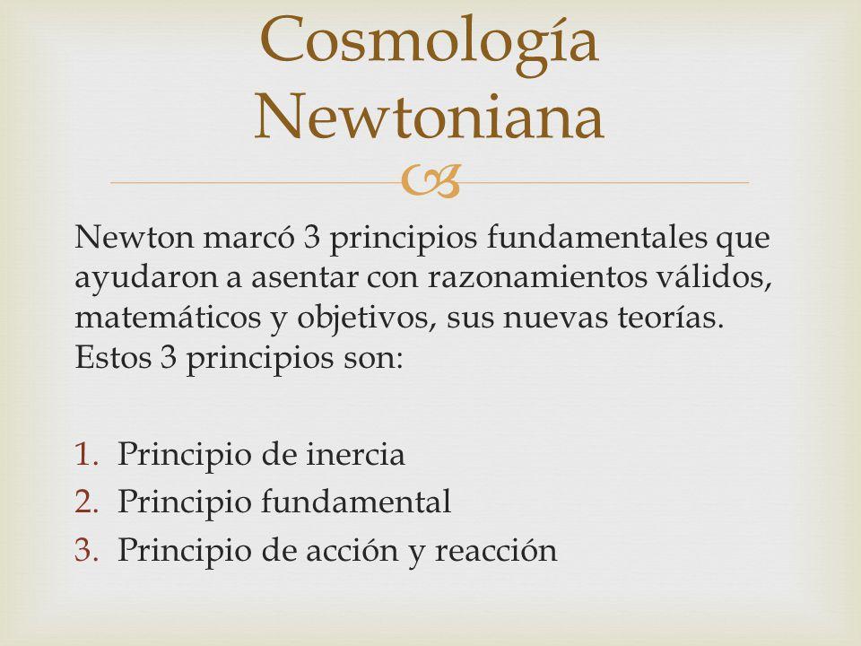 Cosmología Newtoniana