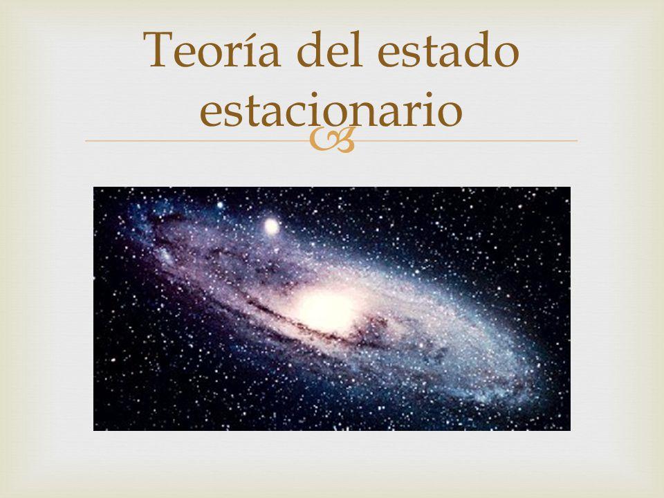 Teoría del estado estacionario