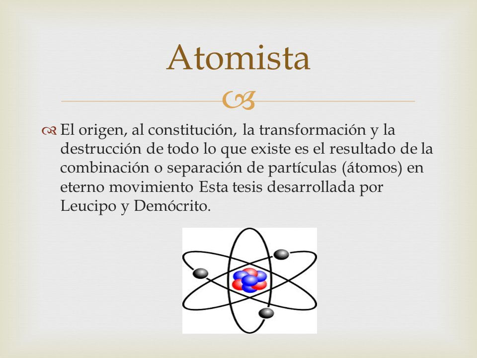 Atomista