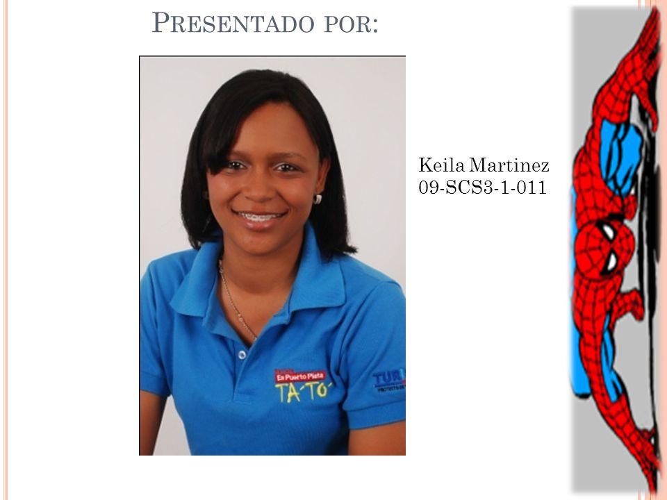 Presentado por: Keila Martinez 09-SCS3-1-011