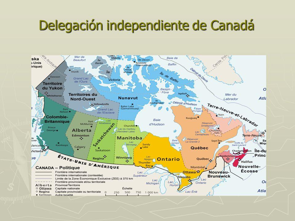 Delegación independiente de Canadá