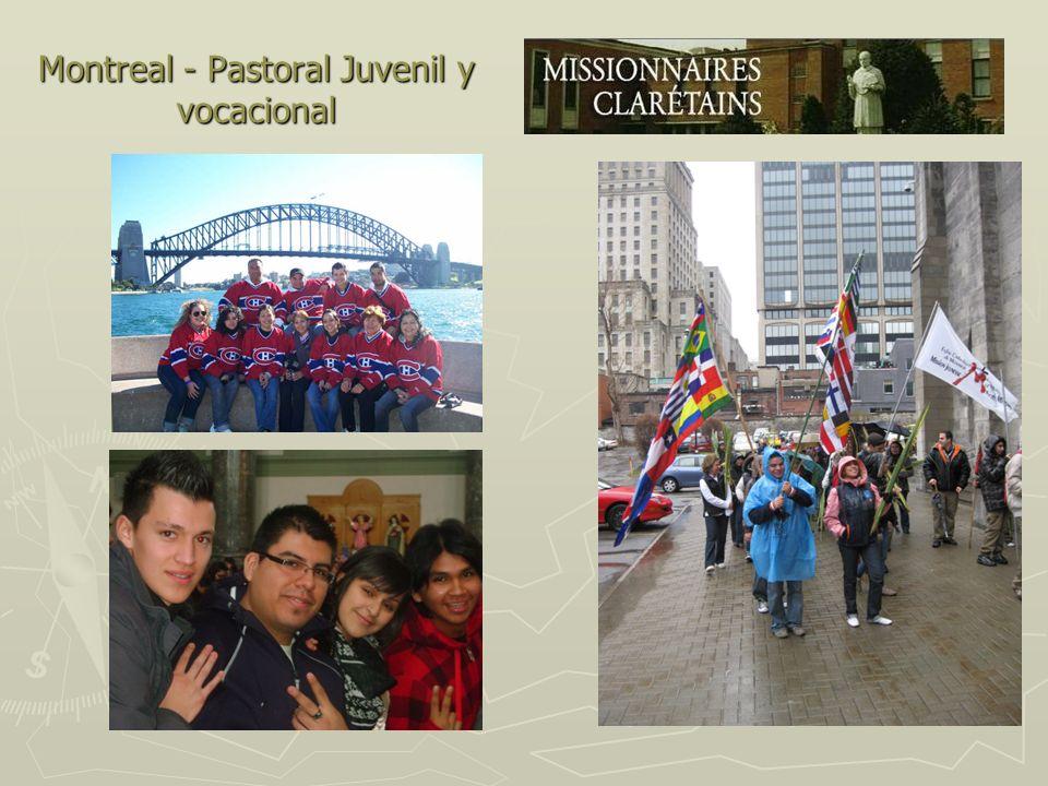 Montreal - Pastoral Juvenil y vocacional