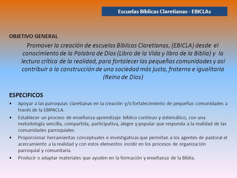 Escuelas Bíblicas Claretianas - EBICLAs