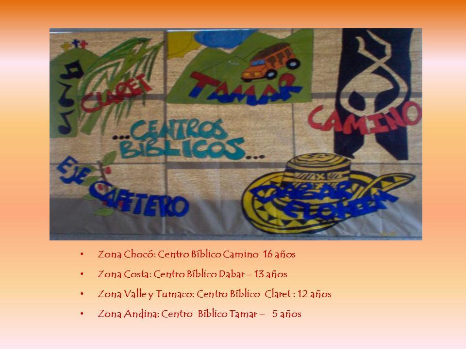 Zona Chocó: Centro Bíblico Camino 16 años