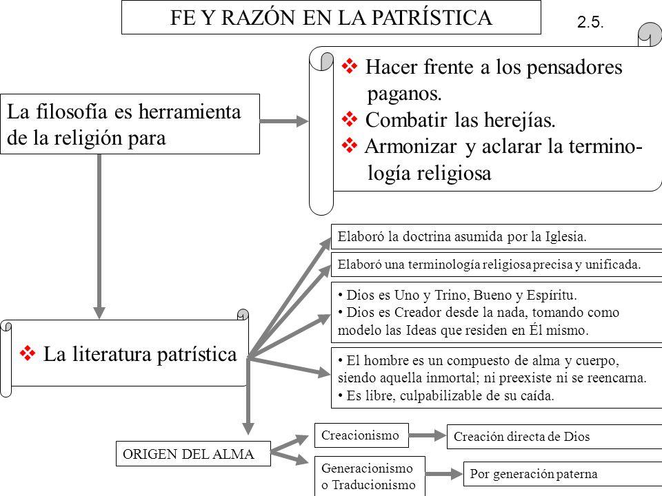FE Y RAZÓN EN LA PATRÍSTICA
