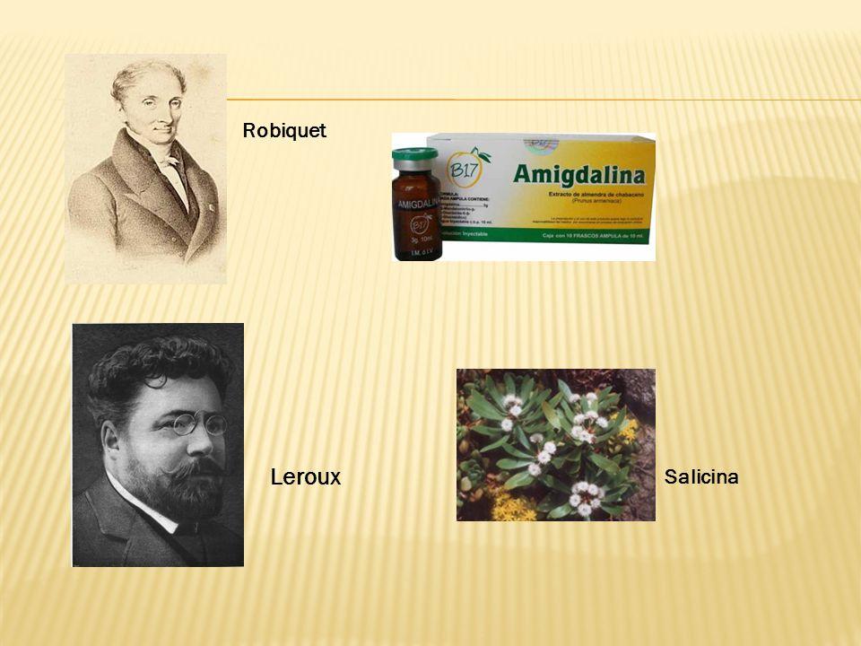 Robiquet Leroux Salicina