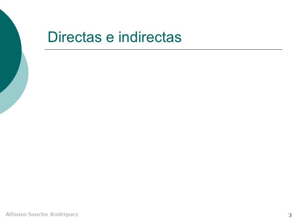 Directas e indirectas