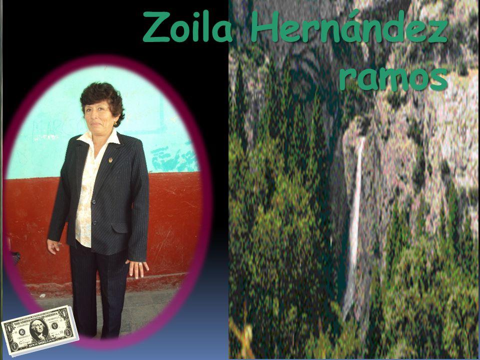 Zoila Hernández ramos