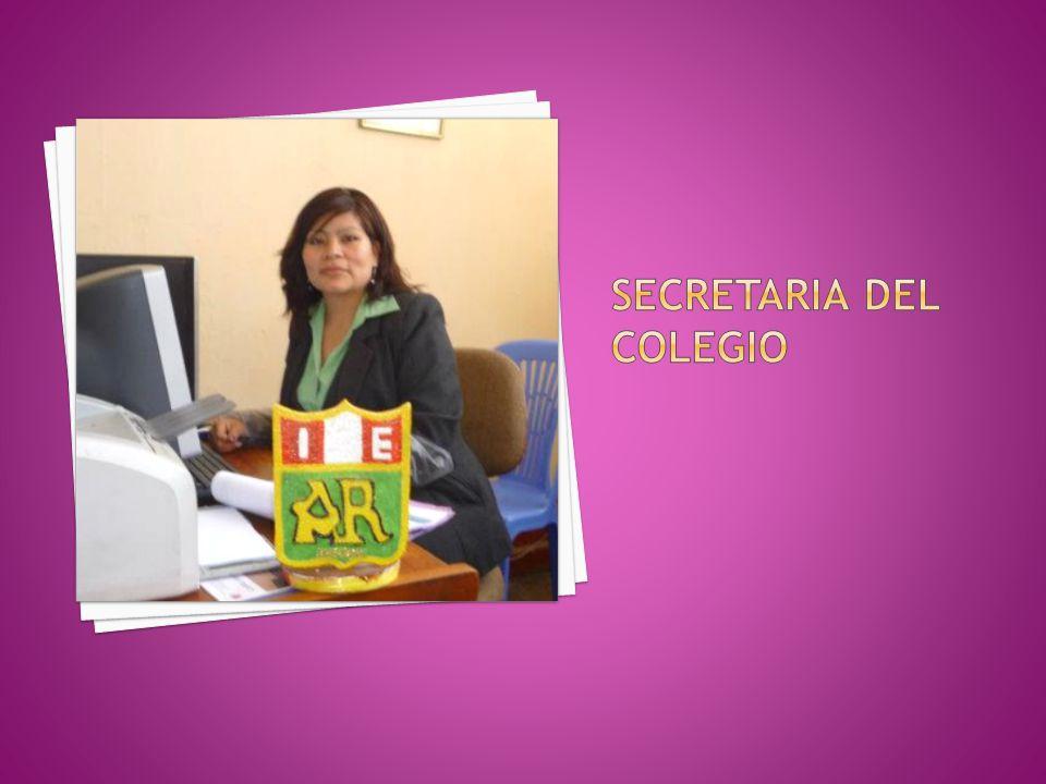 SECRETARIA DEL COLEGIO