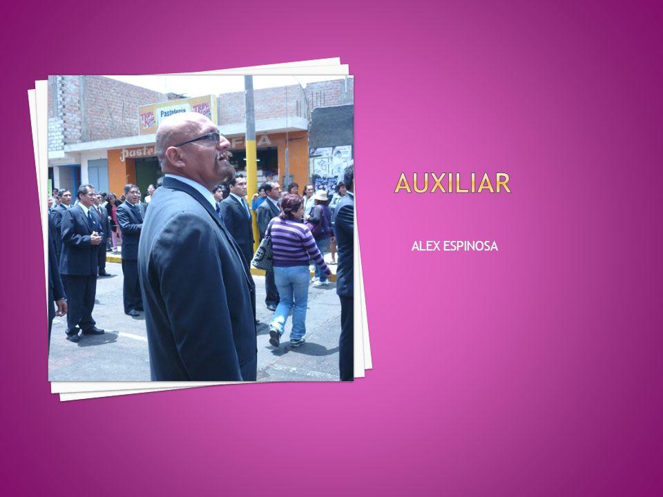 AUXILIAR ALEX ESPINOSA